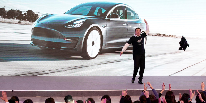 Musk Enthusiastically Dances at Model Y Launch Event in China