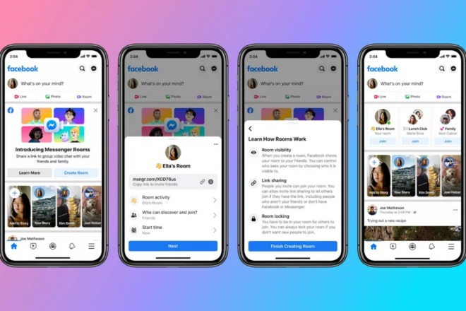 Facebook Has Come Up With Messenger Rooms